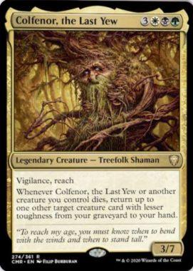 Colfenor, the Last Yew(統率者レジェンズ)