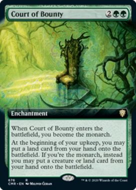 Court of Bounty(統率者レジェンズ)