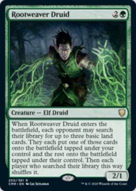 Rootweaver Druid(統率者レジェンズ)