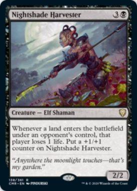 Nightshade Harvester(統率者レジェンズ)
