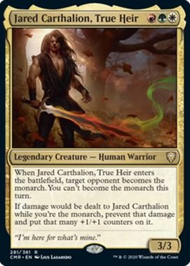 Jared Carthalion, True Heir(統率者レジェンズ)