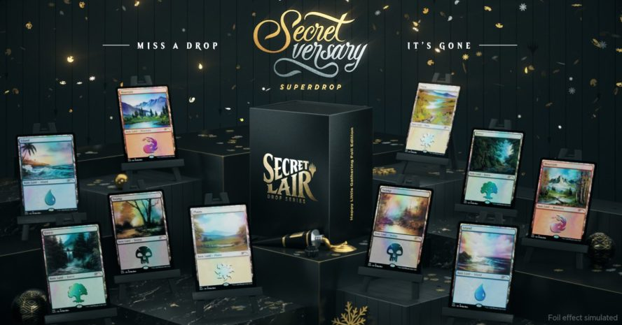 【Artist Series: Bob Ross】MTG「Secret Lair」の新製品「Artist Series: Bob Ross」が情報公開!人気イラストレーター「Bob Ross」氏が描き下ろした基本土地&《進化する未開地》が収録!