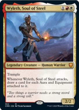Wyleth, Soul of Steel 統率者レジェンズ