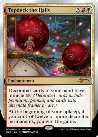 Topdeck the Halls(ホリデーギフトプロモ 2020)