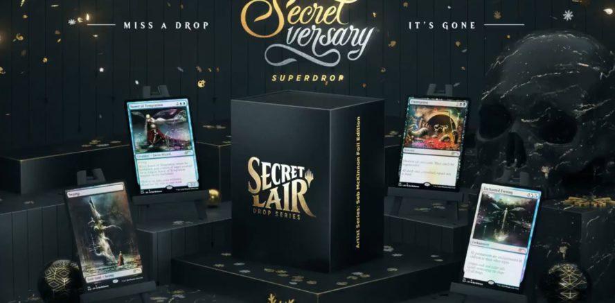 【Artist Series: Seb McKinnon】MTG「Secret Lair」の新製品「Artist Series: Seb McKinnon」が情報公開!人気イラストレーター「Seb McKinnon」氏が描き下ろした新規イラストの4種カードが収録!