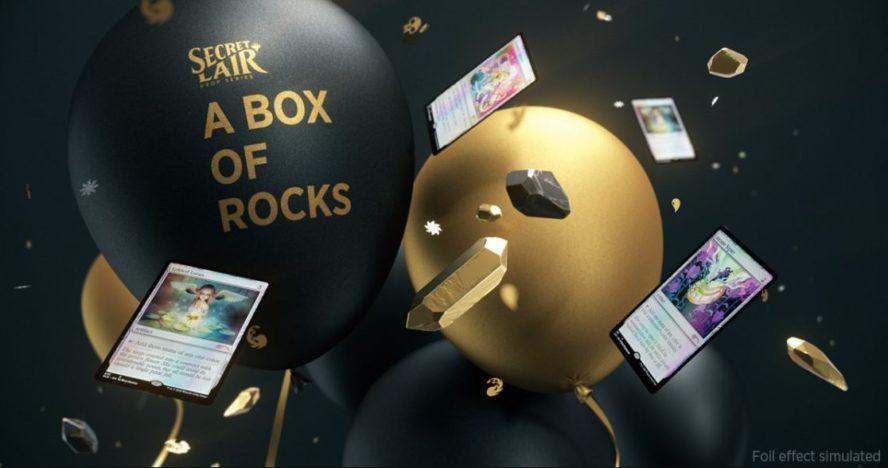【A Box of Rocks】MTG「Secret Lair」の新製品「A Box of Rocks」が情報公開!5人のアーティストが5種のマナファクトを描く!