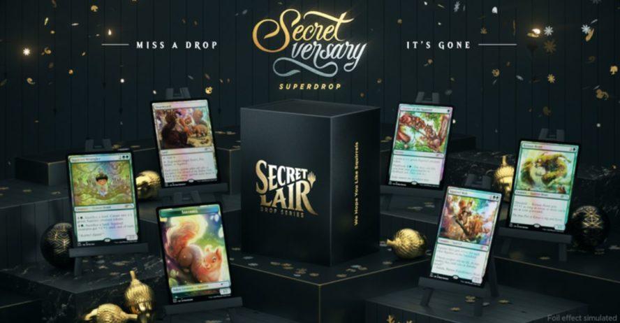 【We Hope You Like Squirrels】MTG「Secret Lair」の新製品「We Hope You Like Squirrels」が情報公開!5種のリス関連カード&リス・トークンが収録!