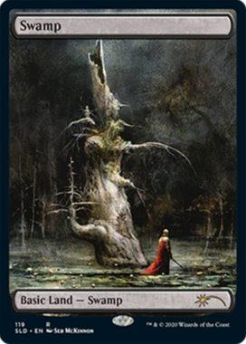 沼(Swamp):Secret Lair「Seb McKinnon」収録
