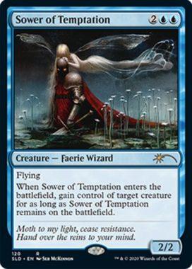 誘惑蒔き(Sower of Temptation):Secret Lair「Seb McKinnon」収録