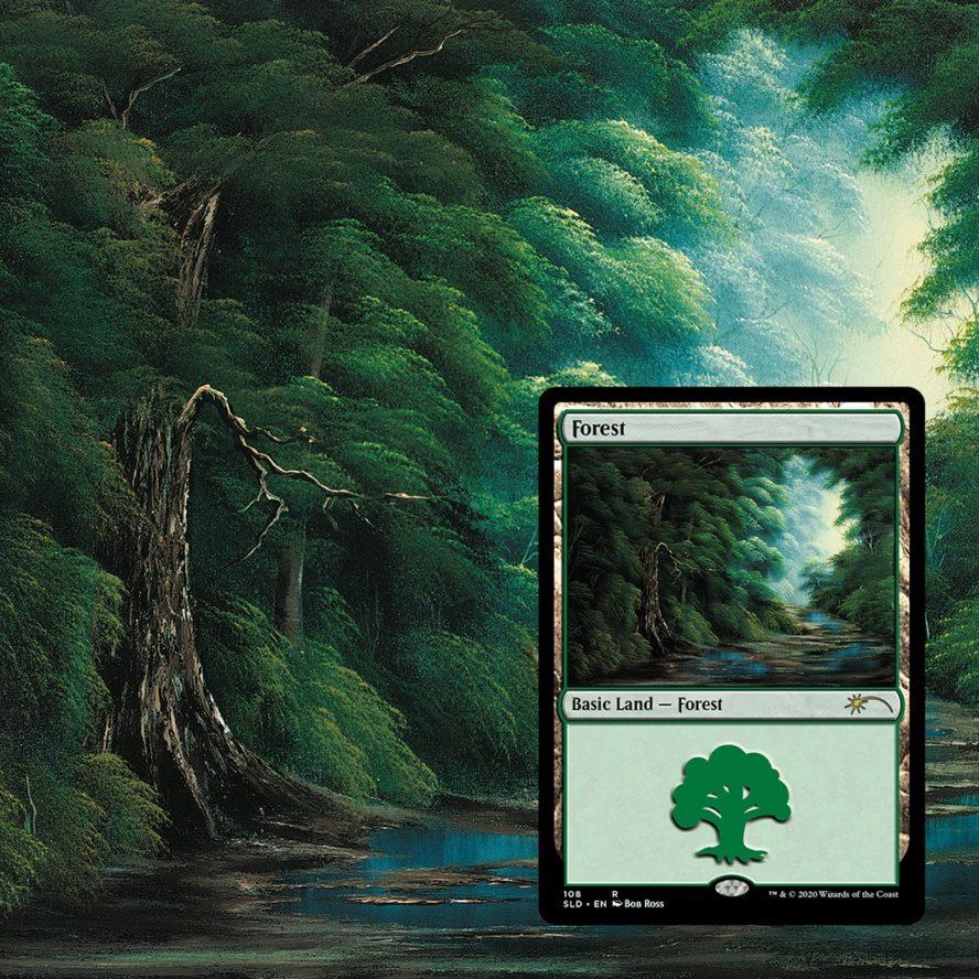 TreeFriend:ボブ・ロス氏アート《森》パスコード
