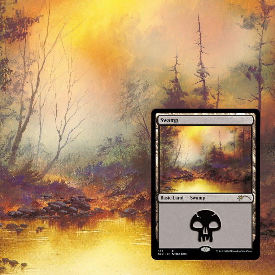 HappySwamp:ボブ・ロス氏アート《沼》パスコード