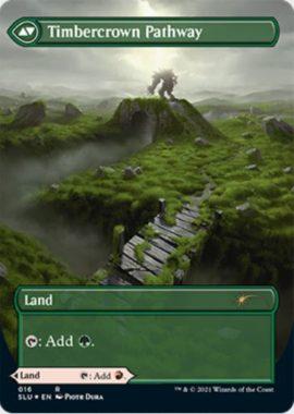 樹木被りの小道(Timbercrown Pathway)MTG「Secret Lair: Ultimate Edition 2」収録
