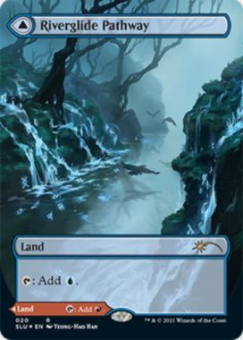 河川滑りの小道(Riverglide Pathway)MTG「Secret Lair: Ultimate Edition 2」収録