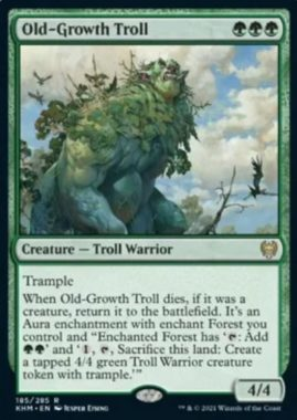 Old-Growth Troll(カルドハイム)
