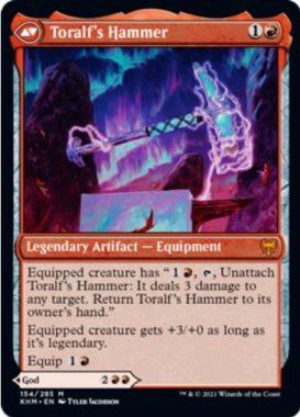 英語版のトラルフの鎚(Toralf's Hammer)カルドハイム