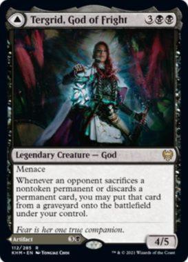 英語版の恐怖の神、ターグリッド(Tergrid, God of Fright)
