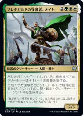 ブレタガルドの守護者、メイヤ(Maja, Bretagard Protector)