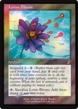 Lotus Bloom(睡蓮の花)時のらせんリマスター・リリースプロモ