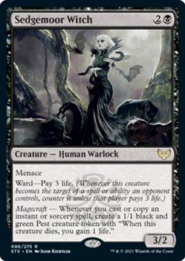 英語版のセッジムーアの魔女(Sedgemoor Witch)