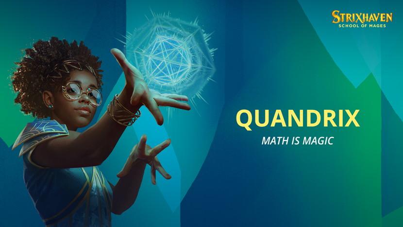 【クアンドリクス/Quandrix】ストリクスヘイヴンの大学「クアンドリクス」の情報が公開!緑青のカラーパイに対応!