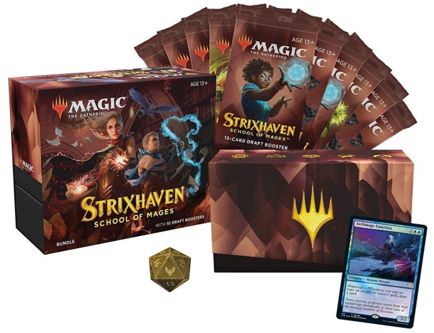 ストリクスヘイヴン「Bundle」の製品パッケージが公開!20面ダイスはゴールドカラー!