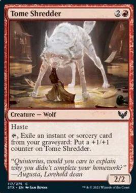 Tome Shredder