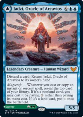 Jadzi, Oracle of Arcavios(ストリクスヘイヴン)