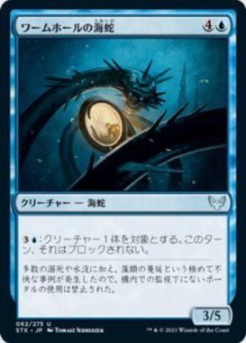 ワームホールの海蛇(Wormhole Serpent)