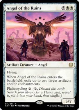 Angel of the Ruins(統率者2021:ストリクスヘイヴン 統率者デッキ)
