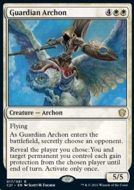 Guardian Archon(統率者2021:ストリクスヘイヴン 統率者デッキ)