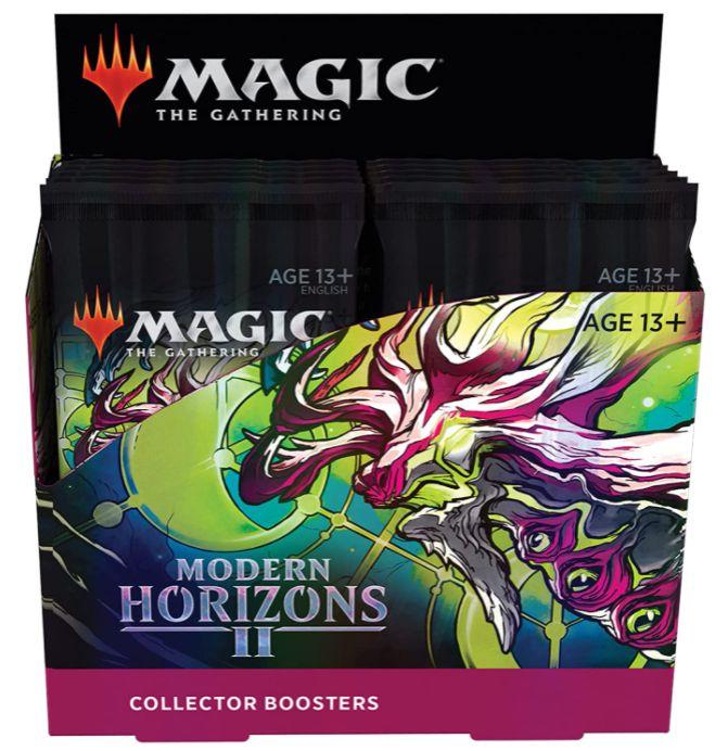 MTG「モダンホライゾン2」コレクター・ブースターの製品パッケージ