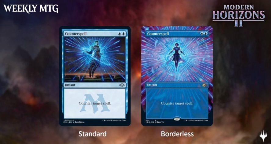 モダンホライゾン2に収録される「対抗呪文」「Diamond Lion」「Brainstone」「土地・エンチャント」の情報が公開!