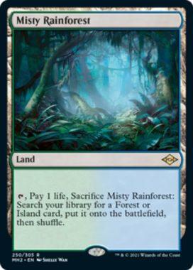 霧深い雨林(Misty Rainforest)モダンホライゾン2