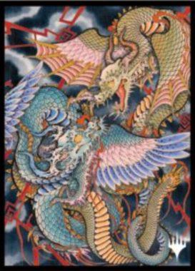 命運の核心(Crux of Fate):エンスカイ「日本画ミスティカルアーカイブ」スリーブ