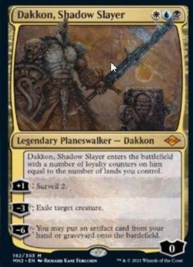 Dakkon, Shadow Slayer(モダンホライゾン2)