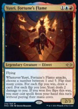 Yusri, Fortune's Flame(モダンホライゾン2)