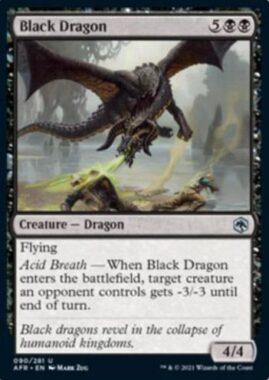 Black Dragon(フォーゴトン・レルム探訪)