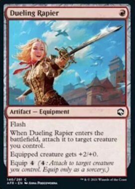 Dueling Rapier(フォーゴトン・レルム探訪)
