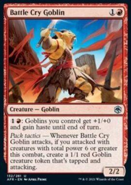 Battle Cry Goblin(フォーゴトン・レルム探訪)