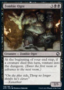 Zombie Ogre(フォーゴトン・レルム探訪)