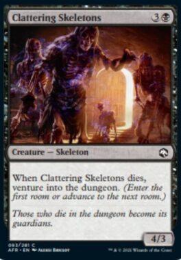 Clattering Skeletons(フォーゴトン・レルム探訪)