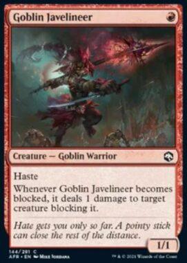 Goblin Javelineer(フォーゴトン・レルム探訪)