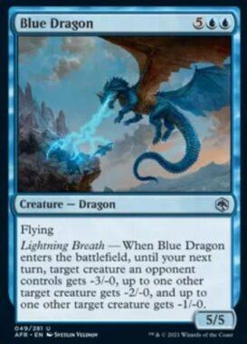 Blue Dragon(フォーゴトン・レルム探訪)