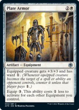 Plate Armor(フォーゴトン・レルム探訪)