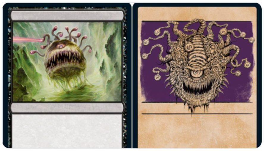 【ビホルダー/Beholder】MTG「フォーゴトン・レルム探訪」に収録される「ビホルダー」のアートが公開!D&Dを発祥とする架空の怪物!