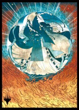 対抗呪文(Counterspell):エンスカイ「日本画ミスティカルアーカイブ」スリーブ