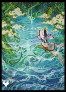 成長のらせん(Growth Spiral):エンスカイ「日本画ミスティカルアーカイブ」スリーブ