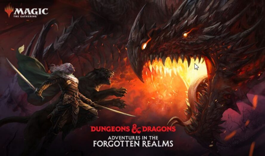 【AFR】MTG「フォーゴトン・レルム探訪」の略号がAFRに決定!英語セット名「Adventures in the Forgotten Realms」の頭文字3文字から!