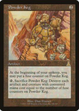 火薬樽/Powder Keg:ウルザズ・デスティニー再録禁止カード