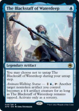 英語版のウォーターディープの黒杖(The Blackstaff of Waterdeep)
